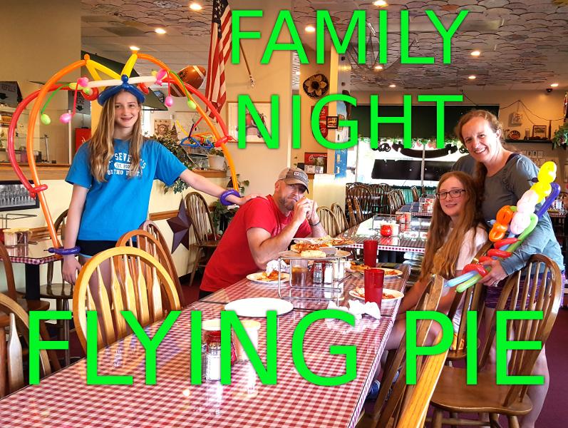 Customer Appreciation Night Gresham Location Flying Pie Pizzeria